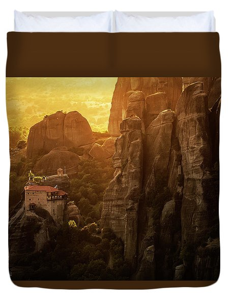 Golden Hour Duvet Cover