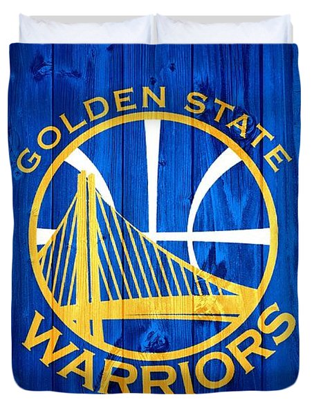 Golden State Warriors Door Duvet Cover