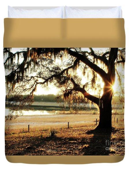 Good Morning Mossy Oak Duvet Cover
