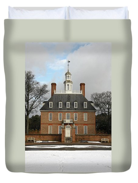 Governors Palace Duvet Cover