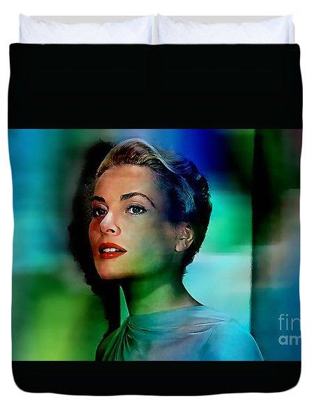 Grace Kelly Duvet Cover by Marvin Blaine
