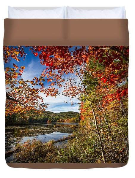 Duvet Cover featuring the photograph Grafton, New Hampshire by Robert Clifford