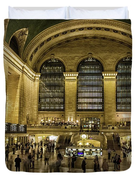 Grand Central Station Duvet Cover