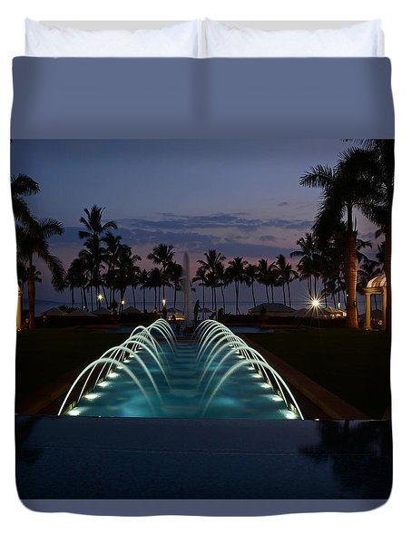 Grand Wailea Resort Duvet Cover