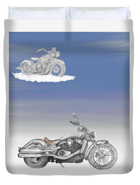 Grandson Duvet Cover by Terry Frederick
