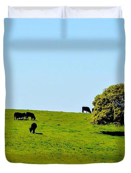 Grazing In The Grass Duvet Cover