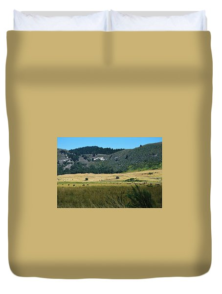Grazing In The Grass Duvet Cover