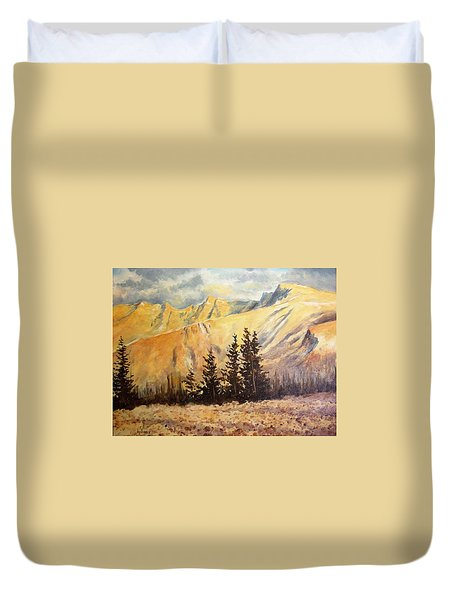 Great Basin National Park Nevada Duvet Cover by Kevin Heaney