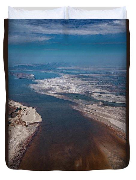 Great Salt Lake Duvet Cover