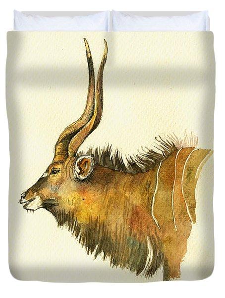Greater Kudu Duvet Cover