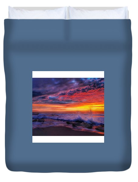 Cloud Reflections Duvet Cover