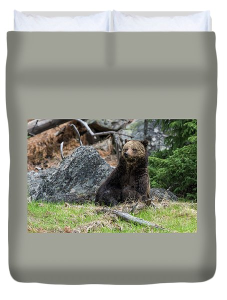 Grizzly Manor Duvet Cover