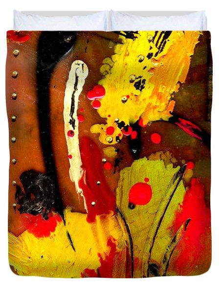 Growing Duvet Cover by Angela L Walker