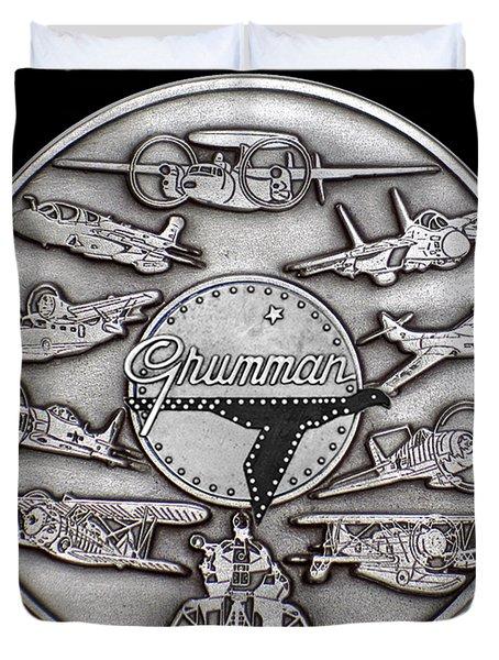 Grumman Coin Duvet Cover