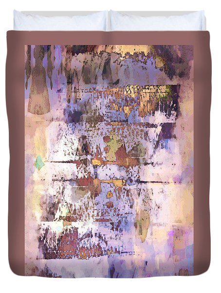 Grungy Abstract  Duvet Cover