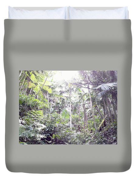 Guilarte's Forest Duvet Cover