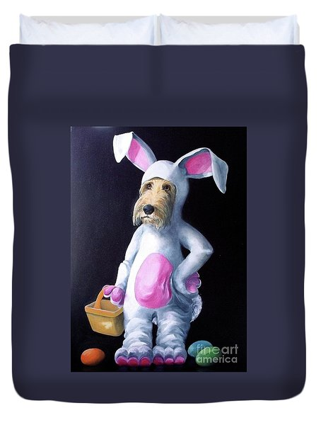Gunther's Easter Parade Duvet Cover