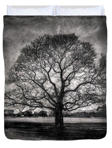 Hagley Tree Duvet Cover by Roseanne Jones