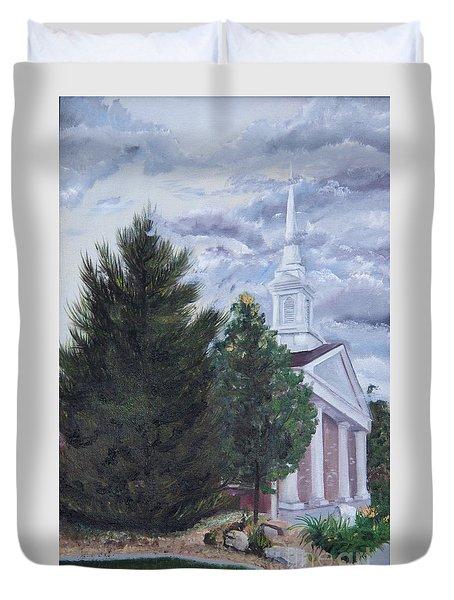 Hale Street Chapel Duvet Cover by Jane Autry