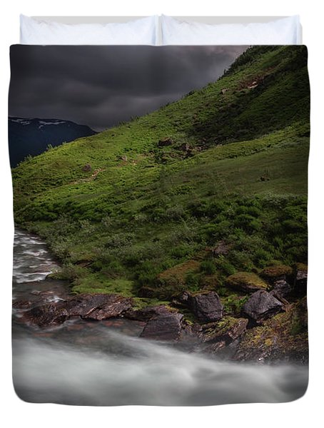 Hall Of The Mountain King Duvet Cover