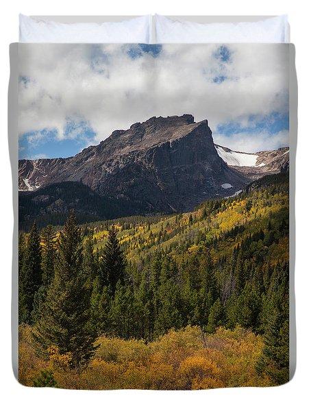 Hallett Peak Duvet Cover