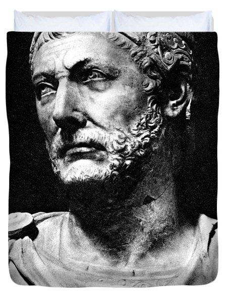Hannibal, Carthaginian Military Duvet Cover