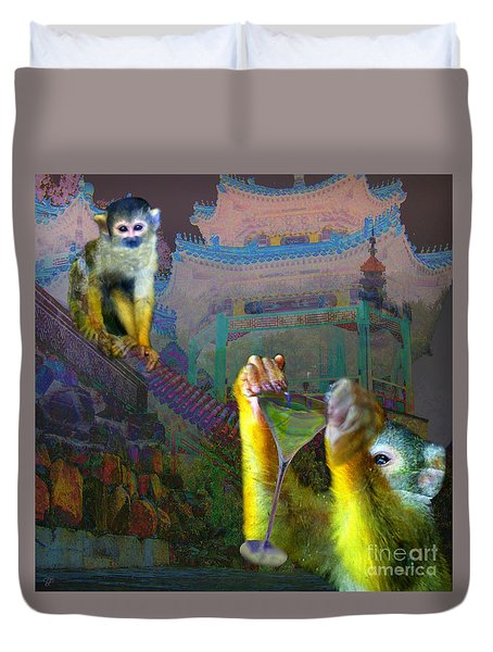 Happy Chinese New Year Duvet Cover