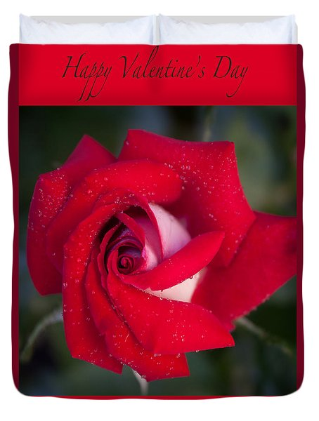 Happy Valentine's Day Duvet Cover by Ivete Basso Photography
