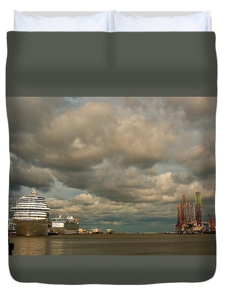 Harbor Storm Duvet Cover