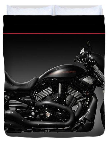 Harley Davidson Vrscd Night Rod Special Duvet Cover by Oleksiy Maksymenko