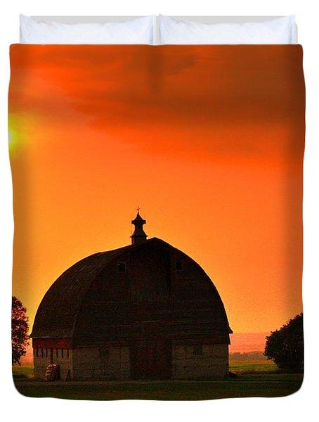 Harvest Sunset  Duvet Cover