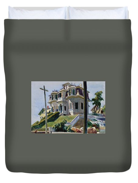 Haskell's House Duvet Cover