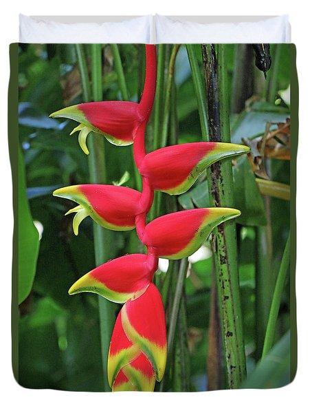 Hawaii Flora Duvet Cover