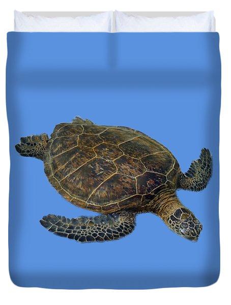 Hawaiian Sea Turtle Duvet Cover