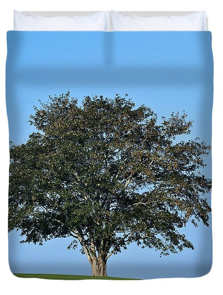 Healthy Tree Duvet Cover by John Greim