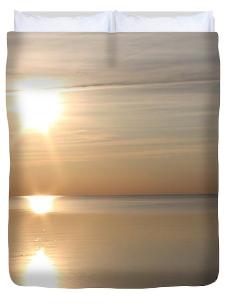 Heavenly Kayak Duvet Cover by Pat Purdy