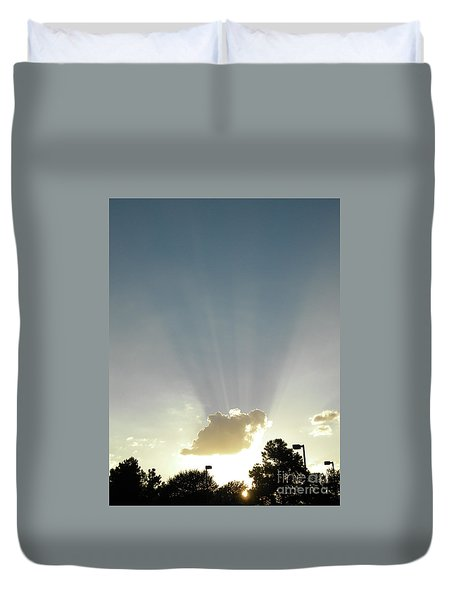 Heavenly Rays Duvet Cover