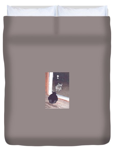Hello There Duvet Cover
