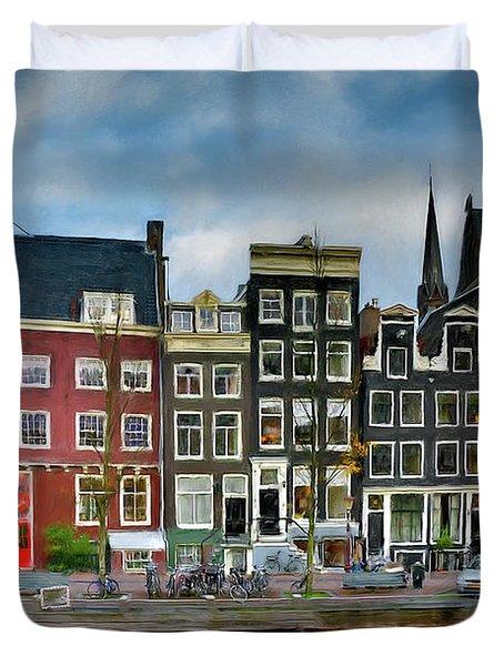Herengracht 411. Amsterdam Duvet Cover