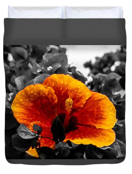 Hibiscus Beauty Duvet Cover