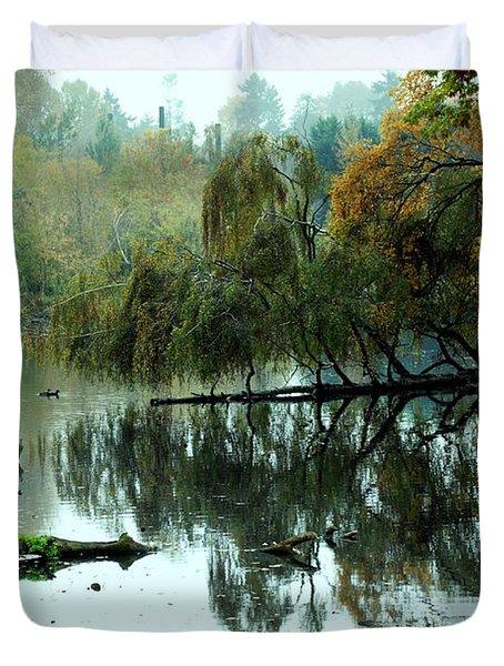 Hidden Lake Duvet Cover