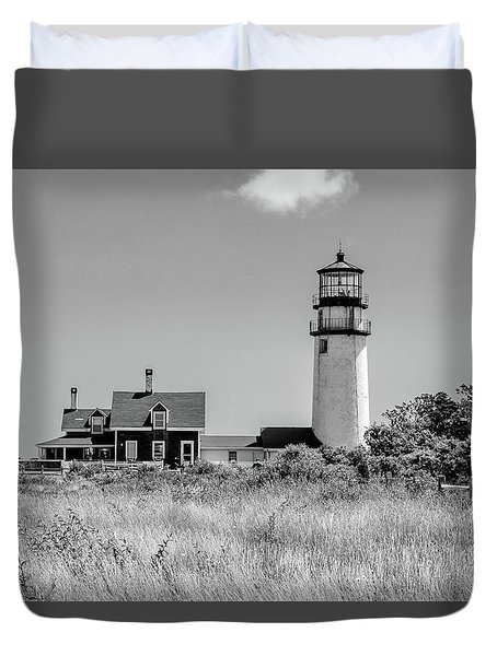 Duvet Cover featuring the photograph Highland Light - Cape Cod by Peter Ciro
