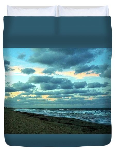 Hobe Sound, Fla Duvet Cover by John Wartman