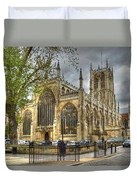 Holy Trinity Church Hull Duvet Cover