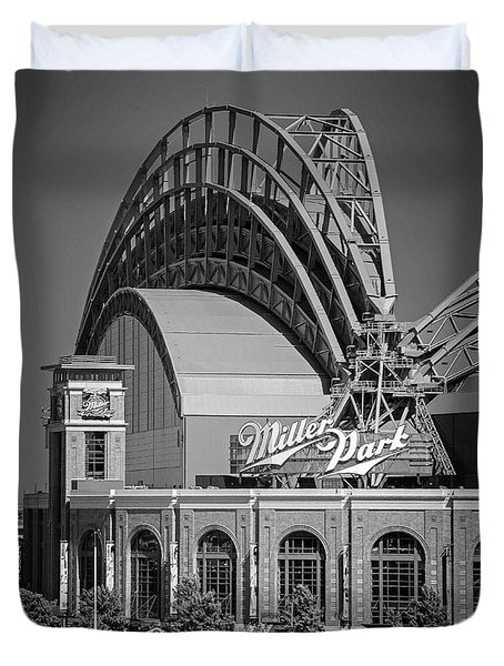Home Of The Milwaukee Brewers Duvet Cover