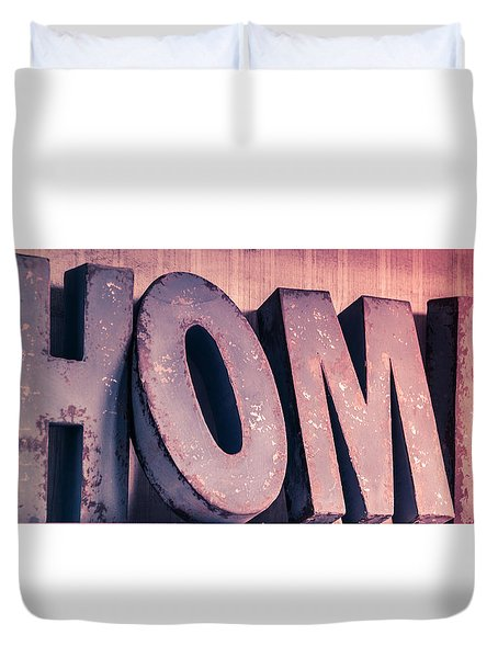 Home.......other Colour Setups Are Possible Duvet Cover by Patrick  Leeflang