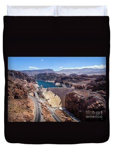 Hoover Dam Duvet Cover by RicardMN Photography