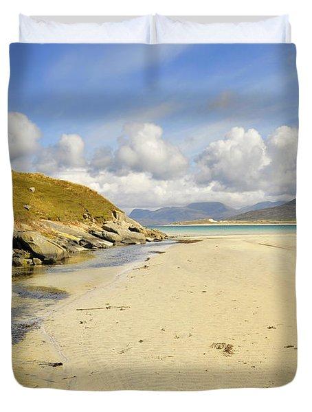 Horgabost Beach Duvet Cover