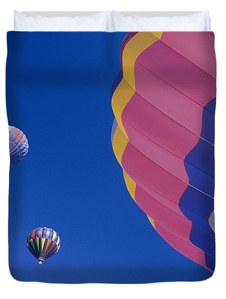 Hot Air Balloons Duvet Cover by Greg Vaughn - Printscapes