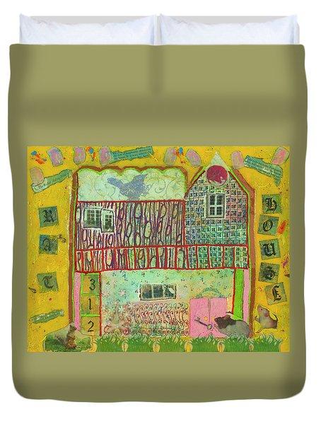 House #3 Duvet Cover